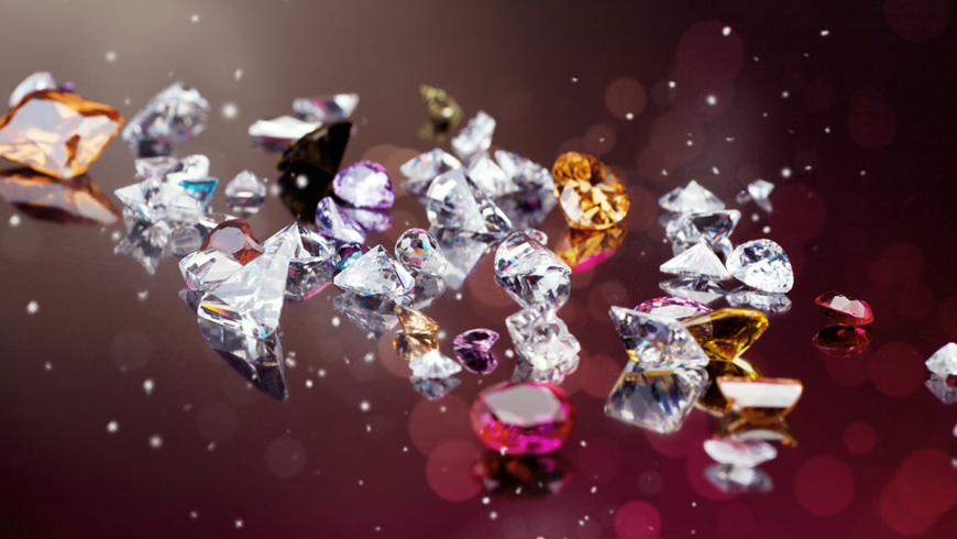 Diamonds, pearls and precious stones: a market on the rise