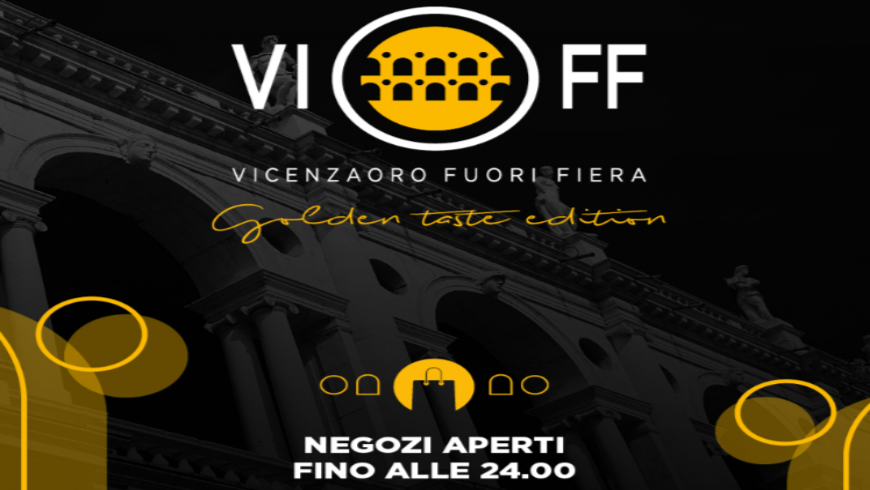 VIOFF, designed by the City of Vicenza for VicenzaOro September. Partner of VIOFF, Palakiss launches Summer