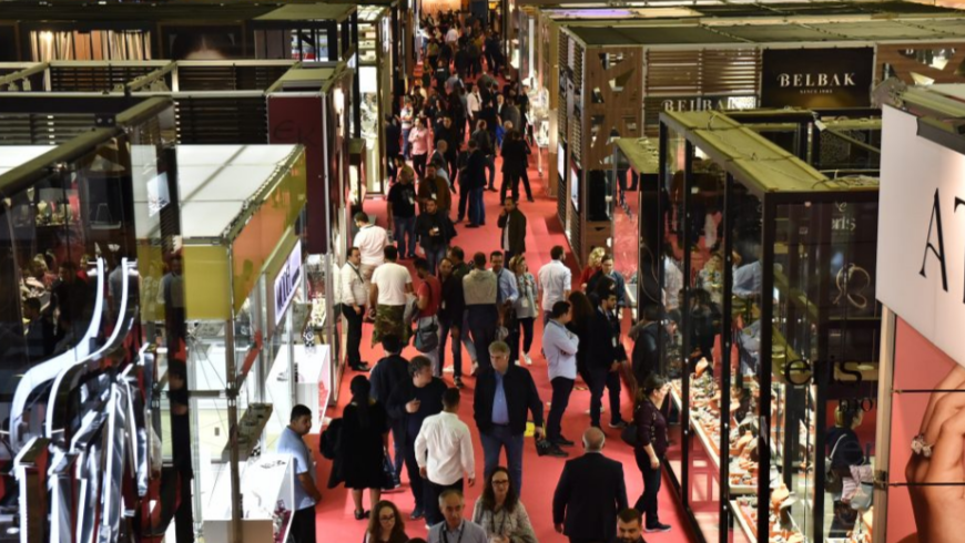 Istanbul Jewelry Show, October 2018 – Orders worth billions of dollars in 4 days