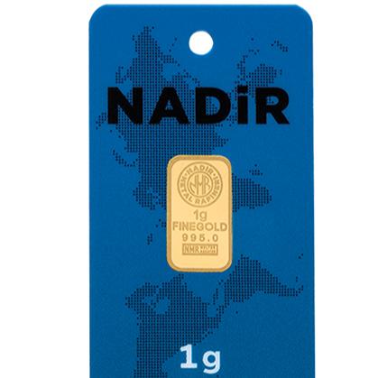 Nadirgold 1 Gr Külçe Altın