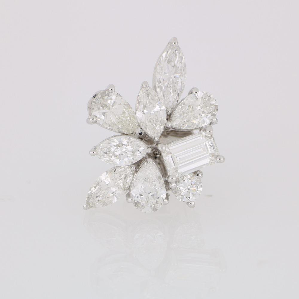 Cluster Diamond earring