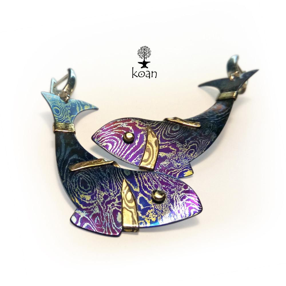 Earrings (fish)