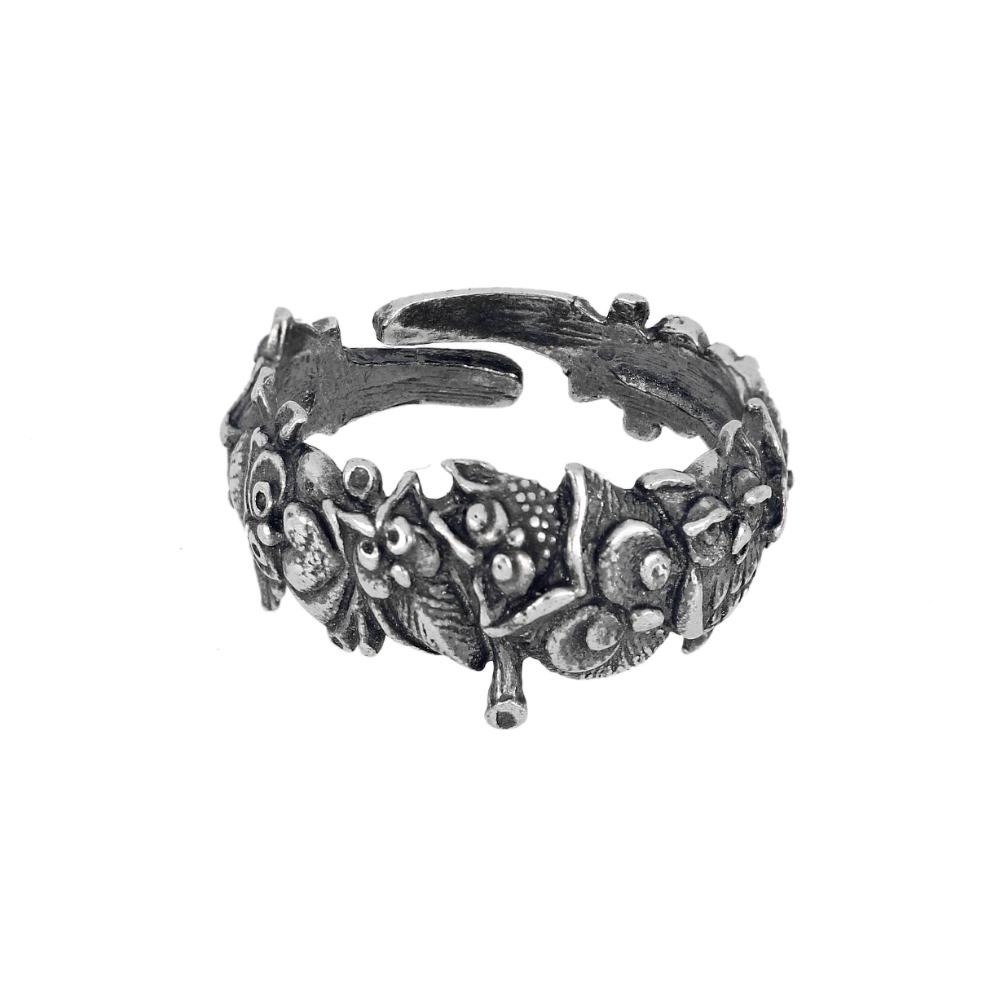 Anello gufo - Owl ring