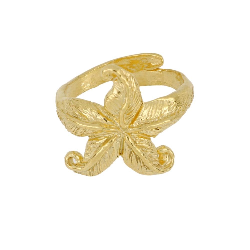 Anello stella marina - Sea star ring