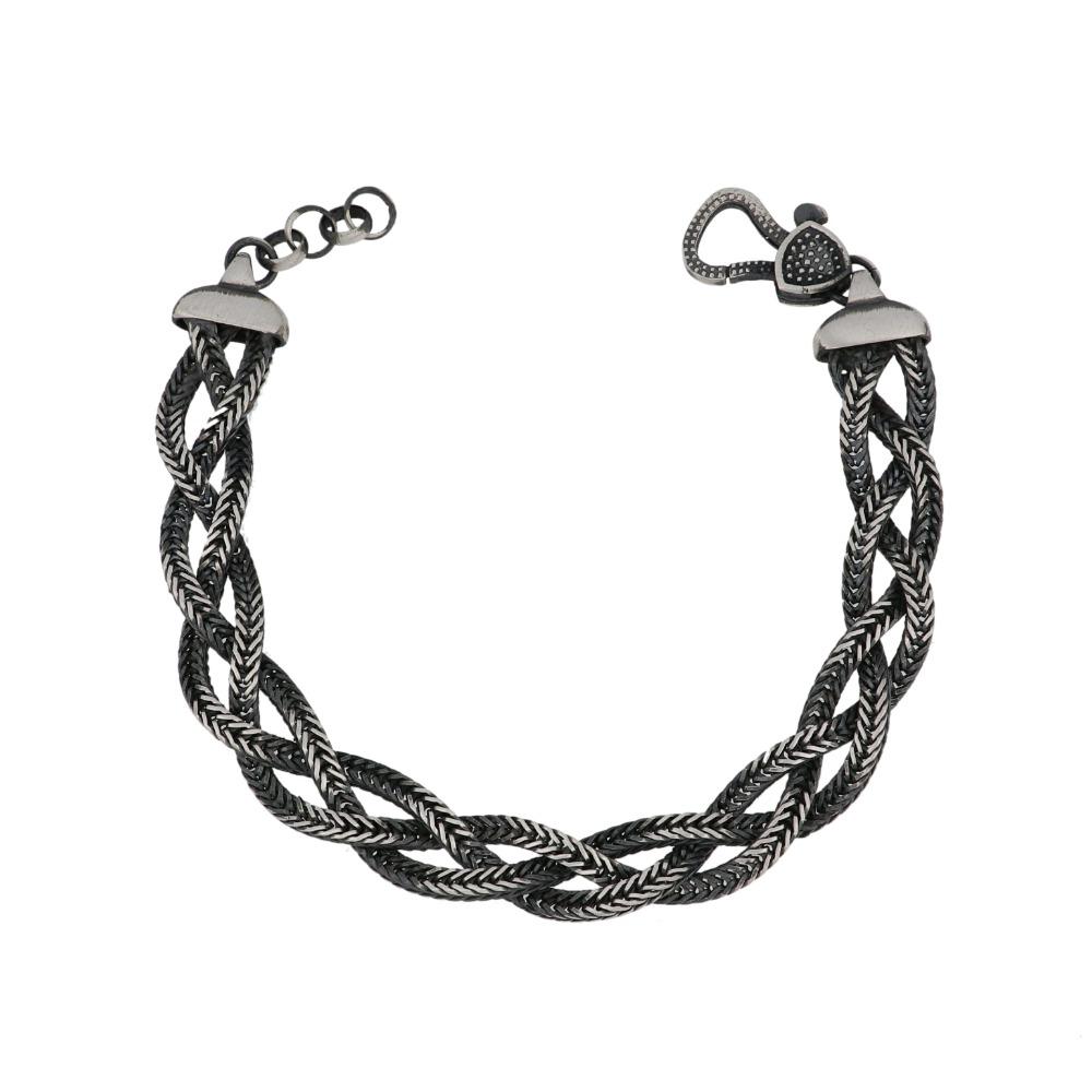 Bracciale treccia - Braid bracelet