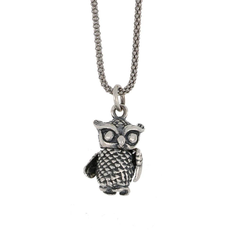 Ciondolo gufo - Owl pendant