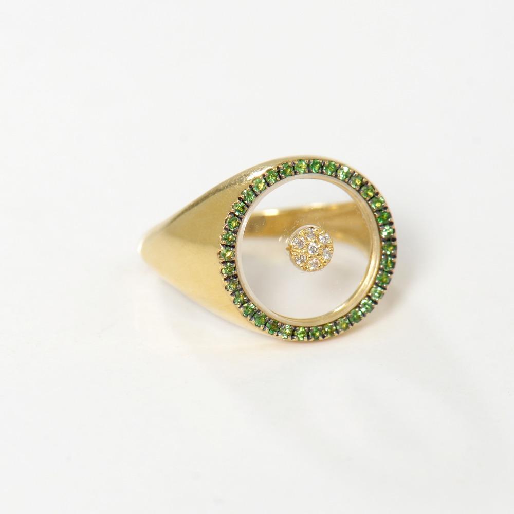 Plaxi green ring