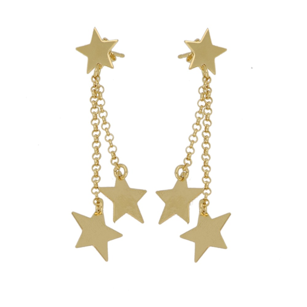 Orecchini con stelle - Earrings with stars