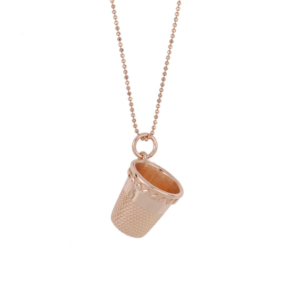 Ciondolo ditale - Thimble pendant