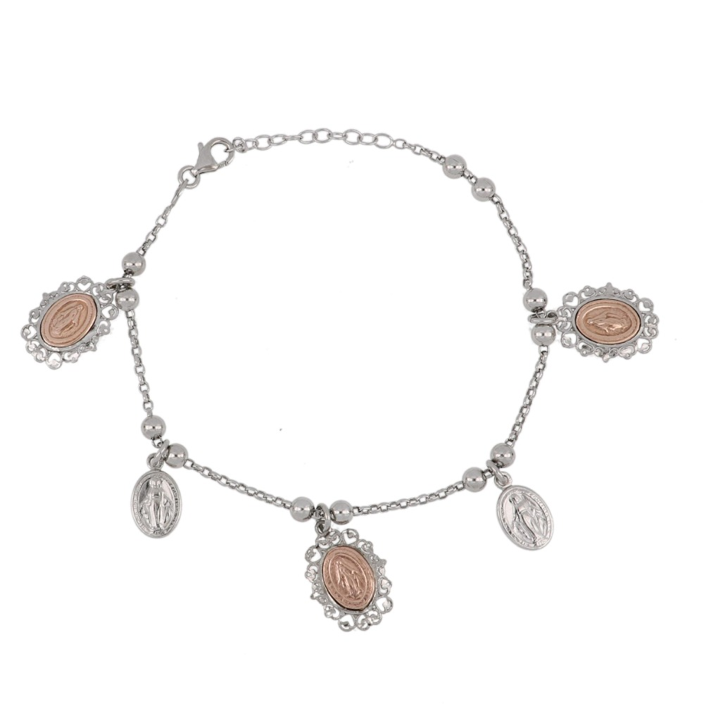 Bracciale madonne miracolose - Bracelet with miraculous medals