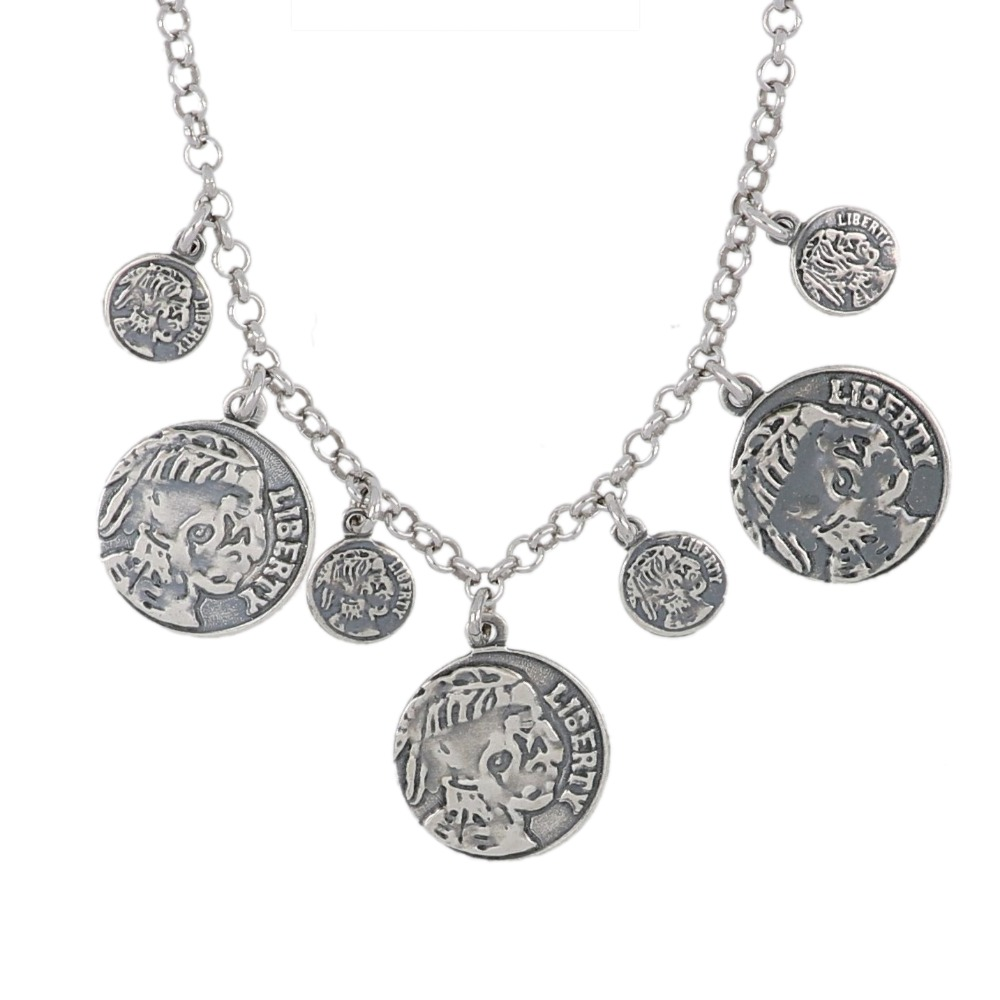 Collana monete antiche - Necklace with ancient coins