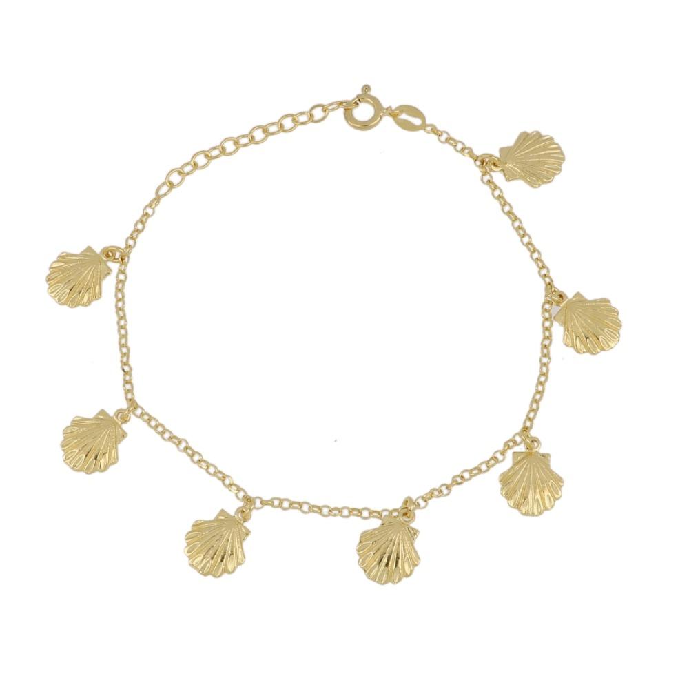 Bracciale conchigline - Bracelet with shells