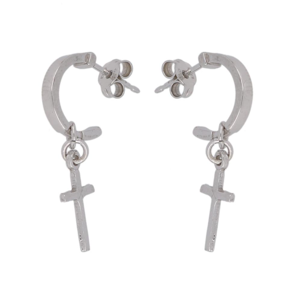 Orecchini archetto con croci - Arch earrings with cross