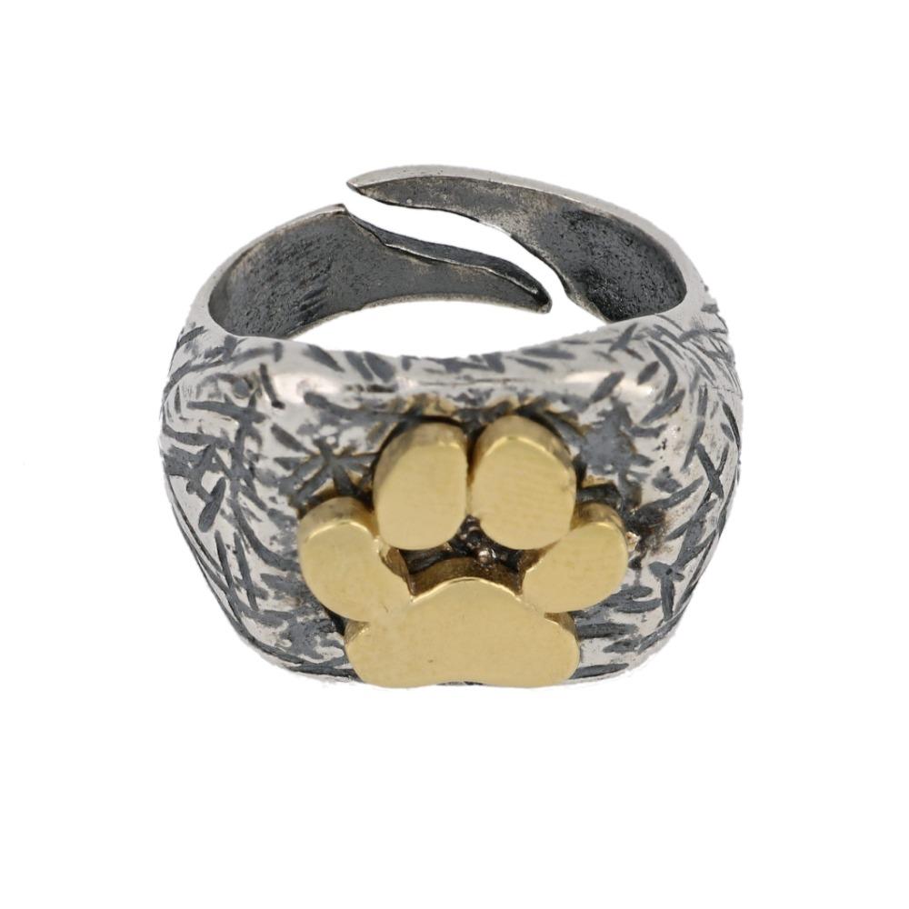 Anello tagli con zampetta - Ring with paw