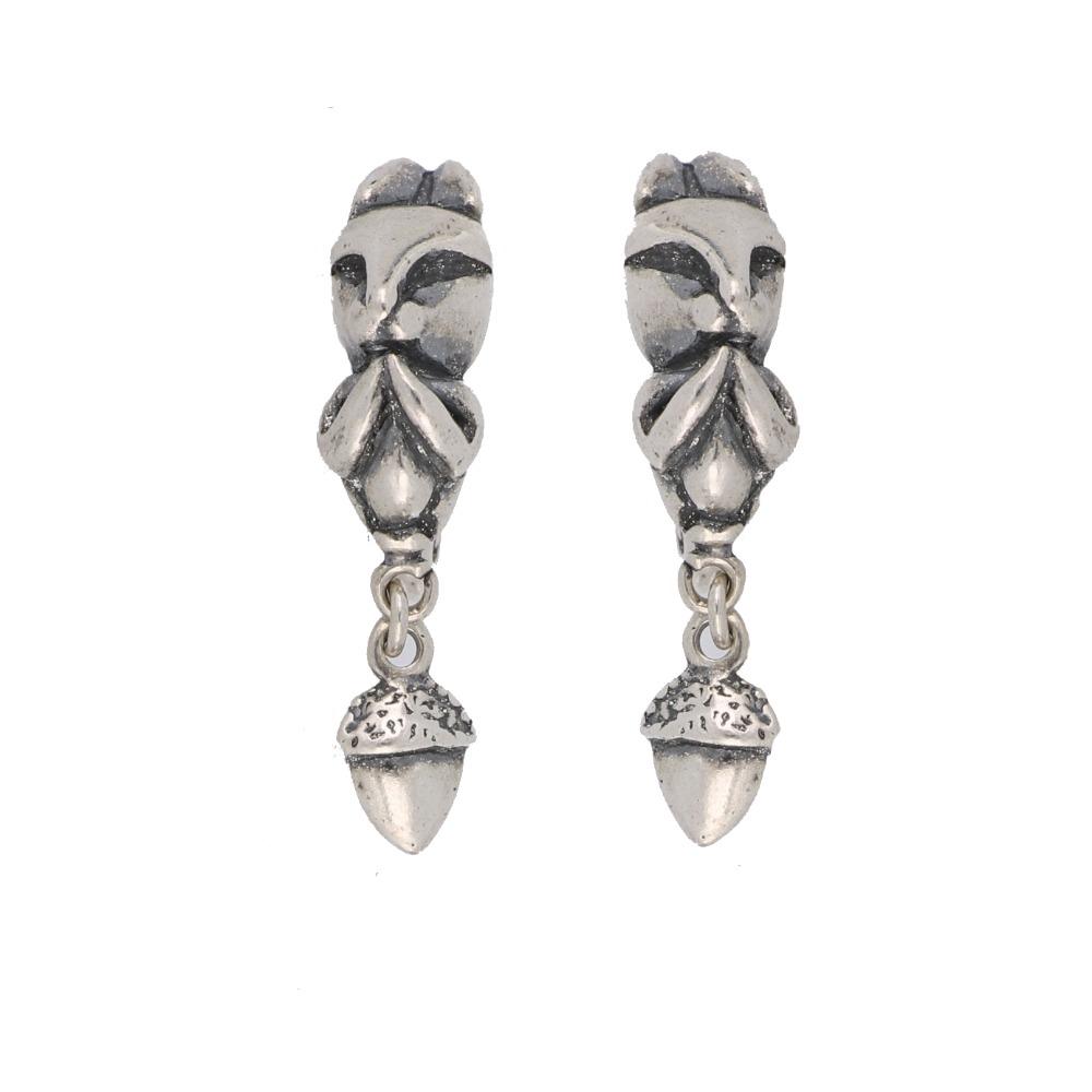 Orecchini scoiattolo - Squirrel earrings