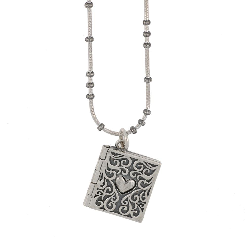 Ciondolo libro - Book pendant