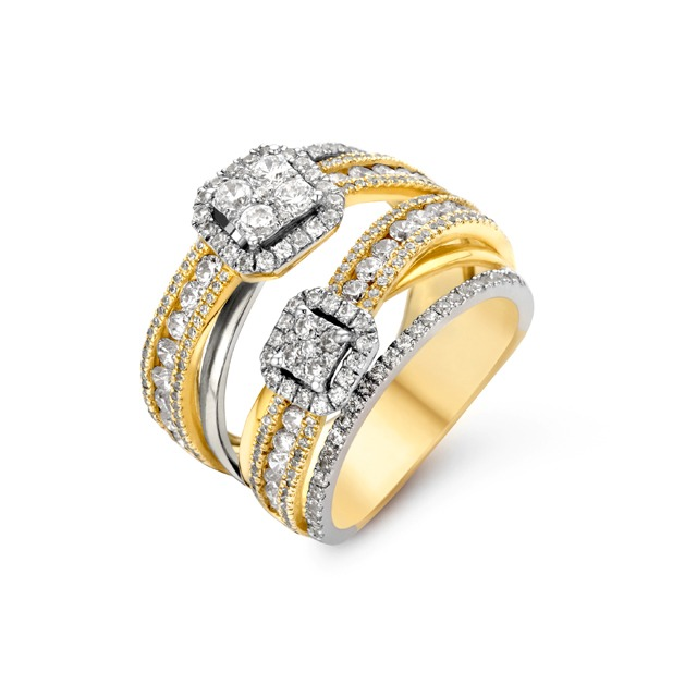 Diamond ring - Fantasy collection