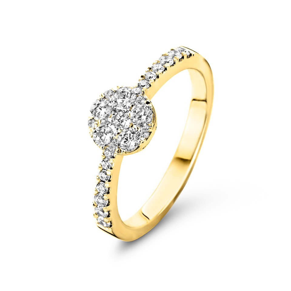 Diamond ring - Magic collection