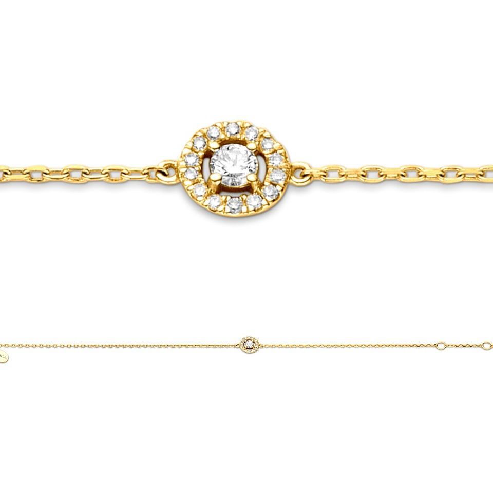 Diamond bracelet - Solitaire Collection