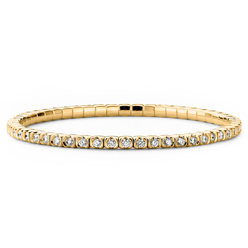 Diamond bracelet - Riviera Stretch collection
