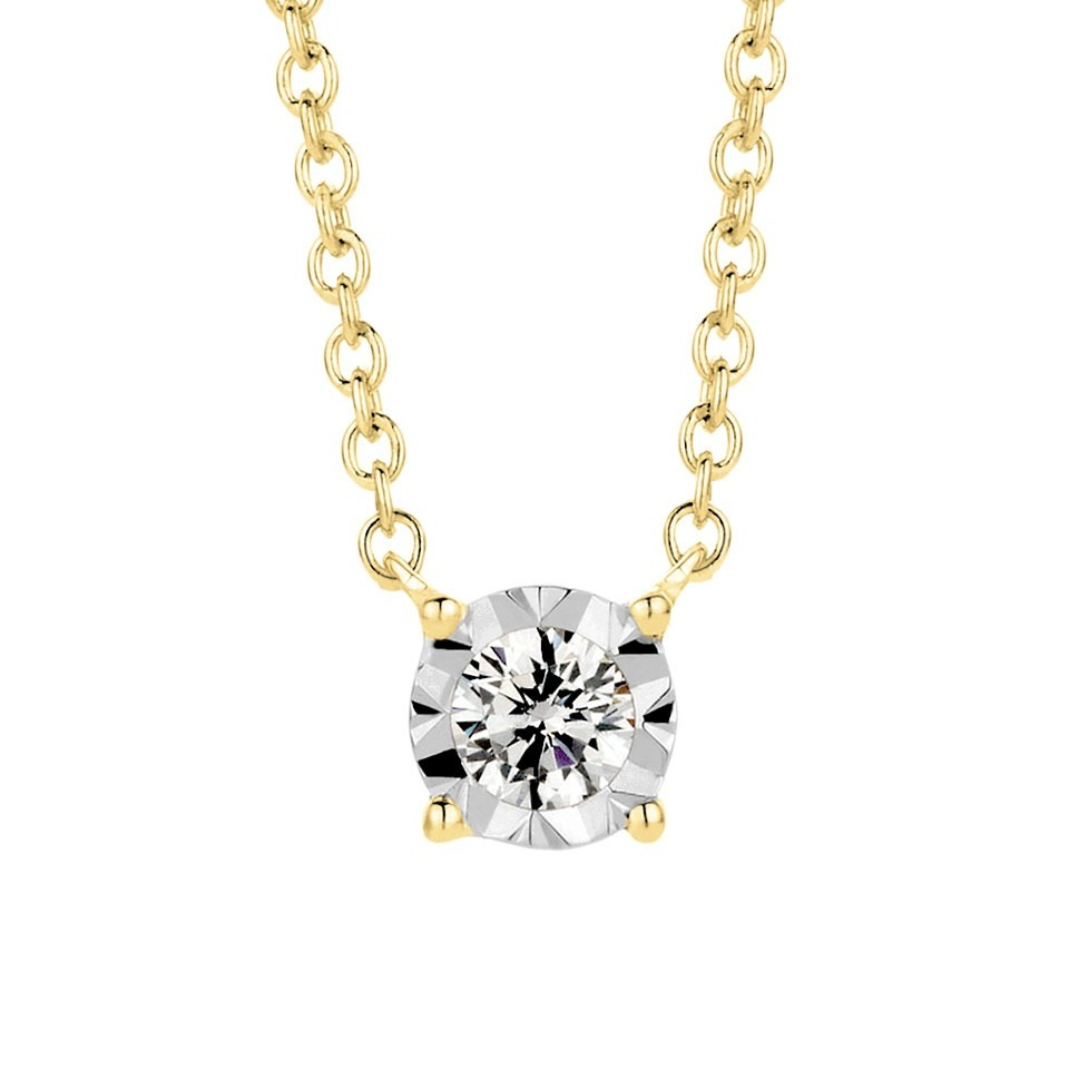Diamond pendant - Illusion collection