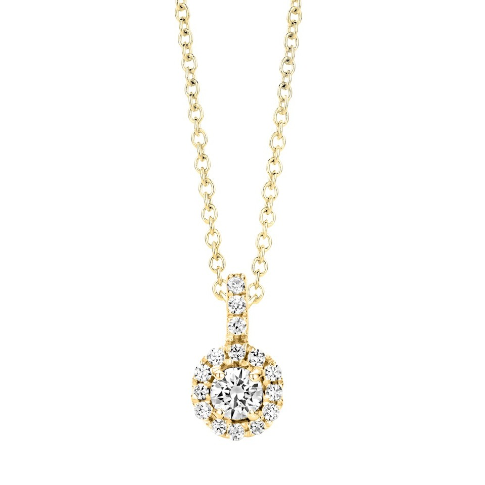 Diamond pendant - Solitaire collection
