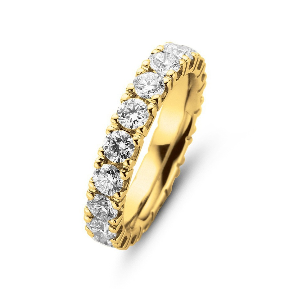 Diamond ring - Riviera collection