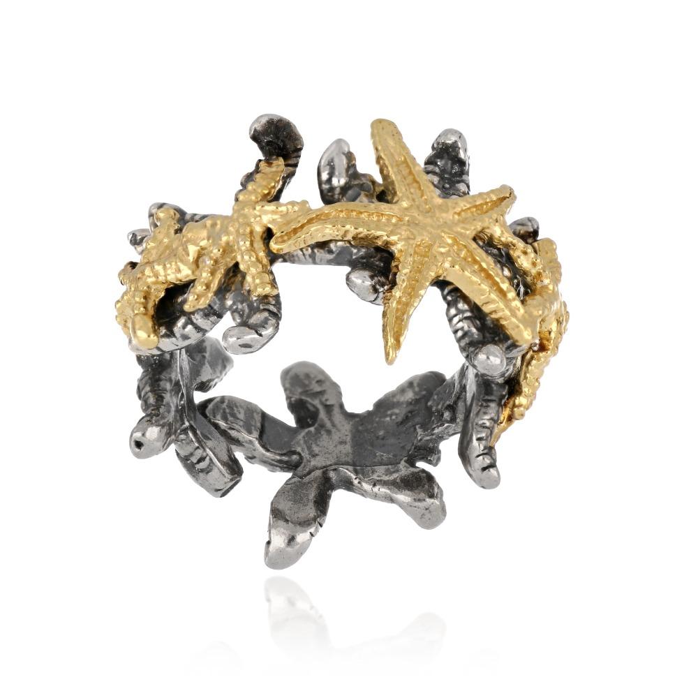 Anello stelle marine - Starfish ring
