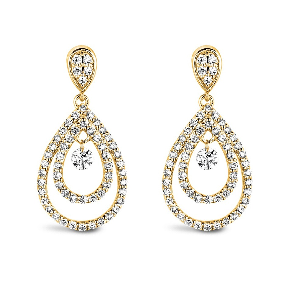 Diamond Earrings - Fantasy Collection
