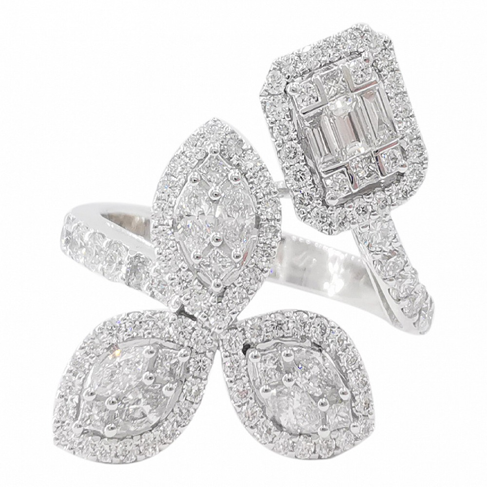 De Cherish Triple Drizzling Ring