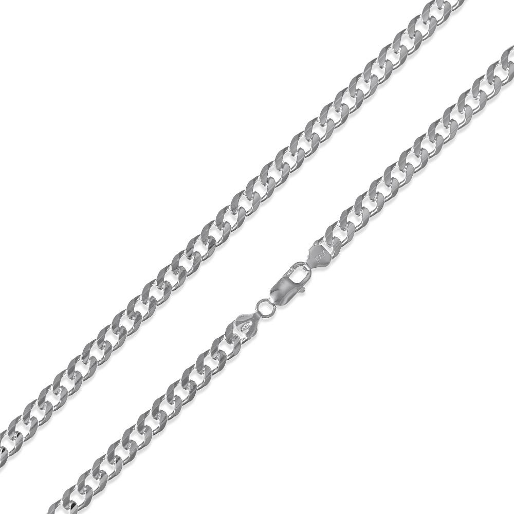 Concave Curb Chain