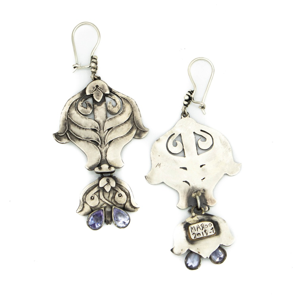 Mashya and Mashyana earrings