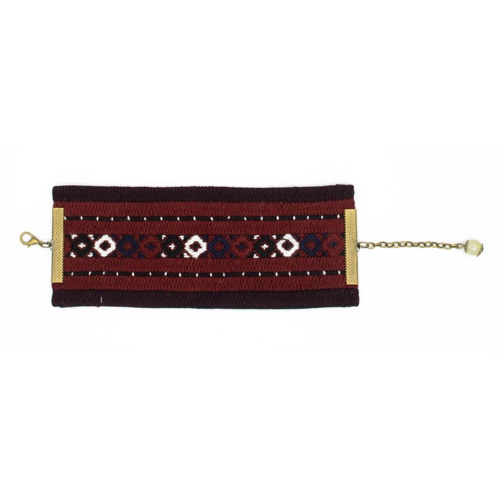 Palivar Balouch Embroidery Bracelet