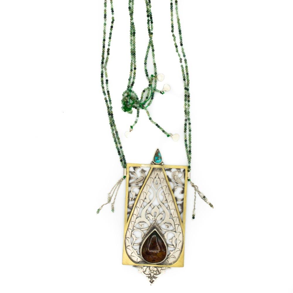 Cypress of Kashmar necklace