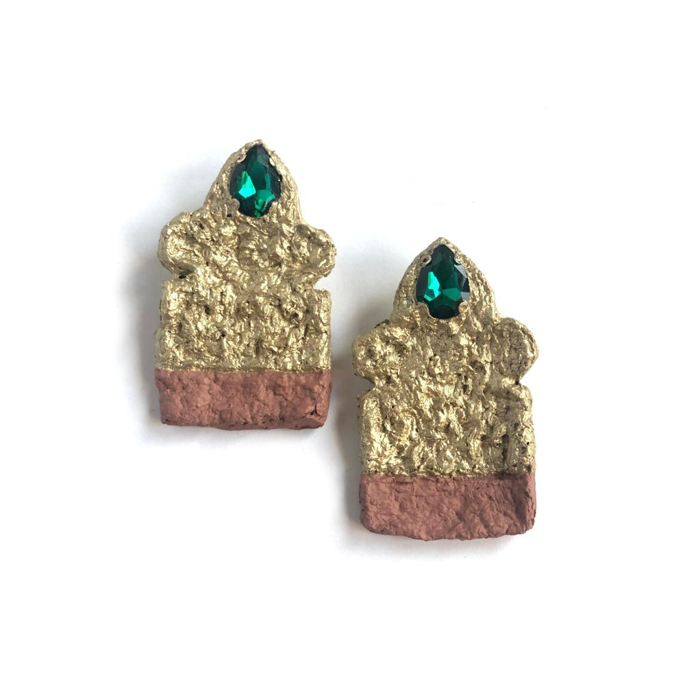 """Alamtaaj"" earrings"