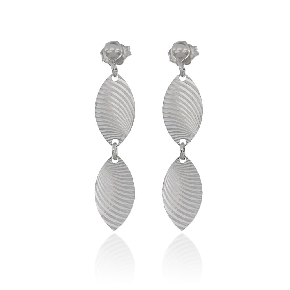 Earrings in silver