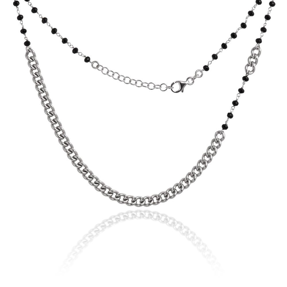 Collana Chain Black